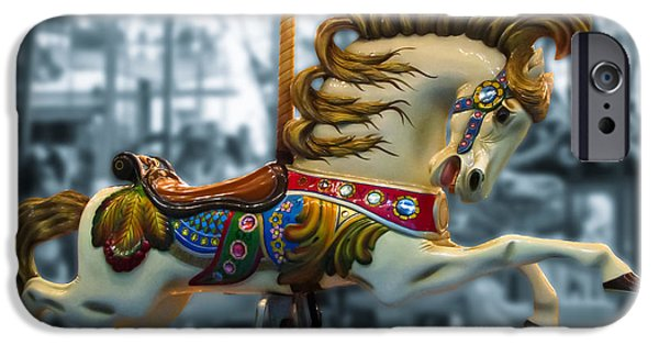 Horse iPhone Cases - The Wild Stallion iPhone Case by Colleen Kammerer