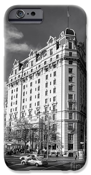 D.c. iPhone Cases - The Willard Hotel iPhone Case by Olivier Le Queinec