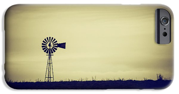 Will Power iPhone Cases - The Windmill iPhone Case by Karol  Livote