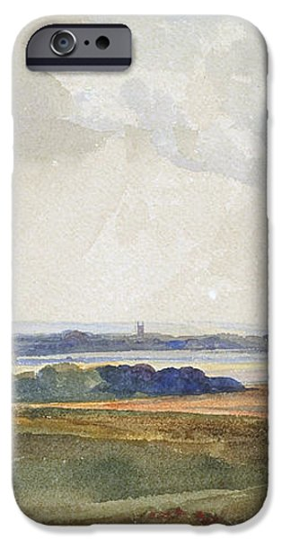 The Windmill iPhone Case by Peter de Wint