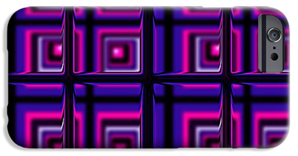 Modern Digital Art iPhone Cases - The Window iPhone Case by Anastasiya Malakhova