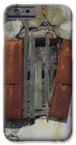 The Window iPhone Case by Debra and Dave Vanderlaan