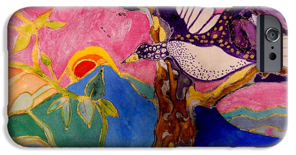 Freedom Tapestries - Textiles iPhone Cases - The Wings of Freedom iPhone Case by Patricia Bunk