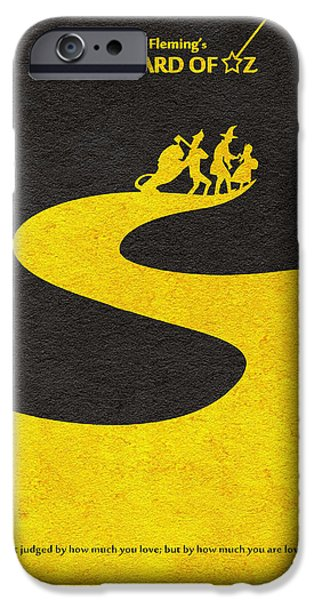 Gift Idea iPhone Cases - The Wizard of Oz iPhone Case by Ayse Deniz