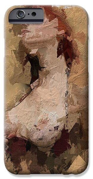 Innocence Mixed Media iPhone Cases - The Woman in you iPhone Case by Stefan Kuhn