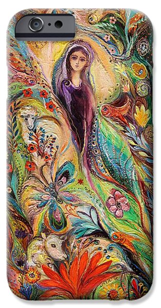 The women of Tanakh Story of Rachel iPhone Case by Elena Kotliarker