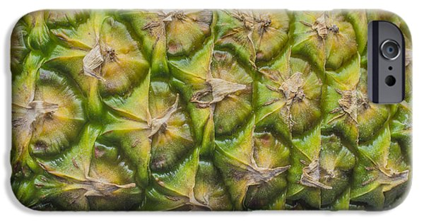 Painter Photographs iPhone Cases - The World Famous Pineapple Fruit iPhone Case by David Haskett