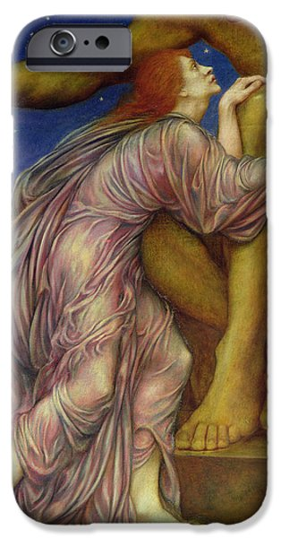 The Worship of Mammon iPhone Case by Evelyn De Morgan