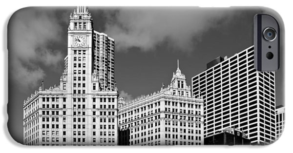 Interior Scene iPhone Cases - The Wrigley Building Chicago iPhone Case by Christine Till