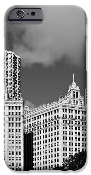 The Wrigley Building Chicago iPhone Case by Christine Till