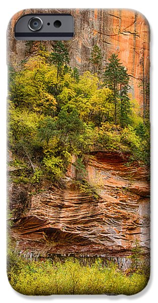 West Fork iPhone Cases - The Writing on the Wall  iPhone Case by Saija  Lehtonen