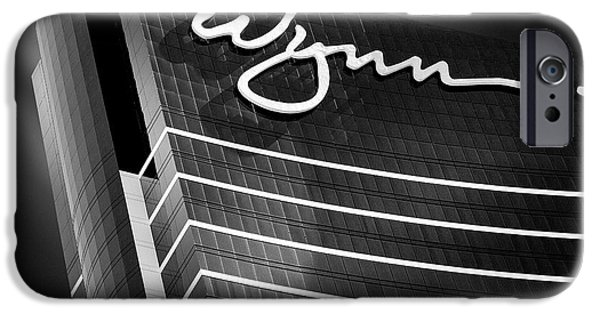 Dave iPhone Cases - Wynn iPhone Case by Dave Bowman