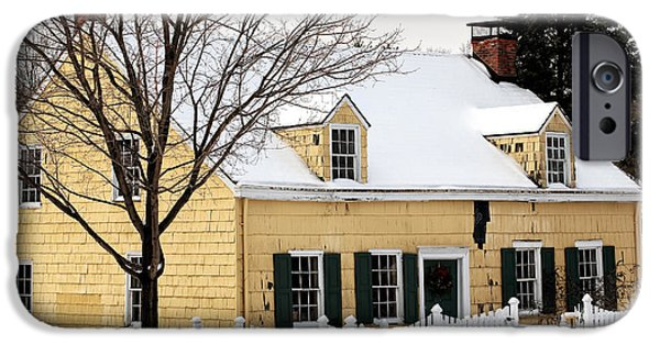 East Village iPhone Cases - The Yellow House iPhone Case by John Rizzuto