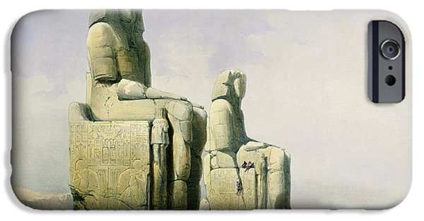 Remnant iPhone Cases - Thebes iPhone Case by David Roberts