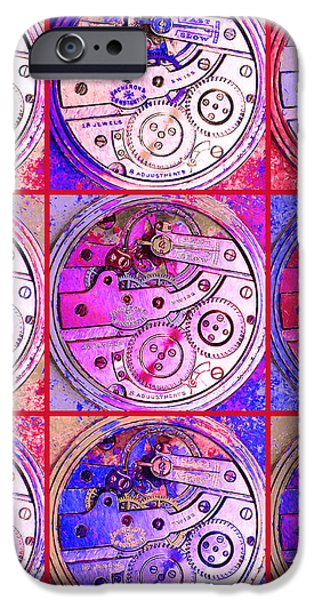 There Is Never Enough Time 20130606magenta iPhone Case by Wingsdomain Art and Photography