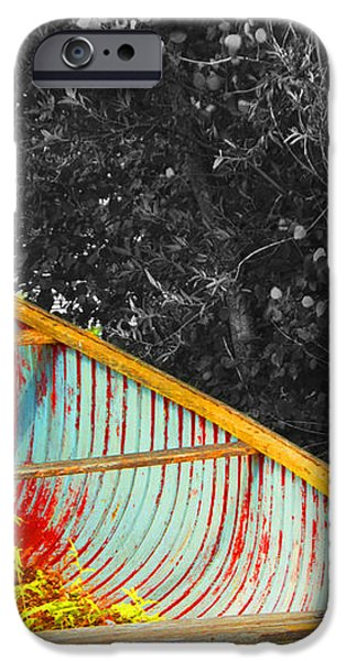 There was a Day iPhone Case by John Stuart Webbstock