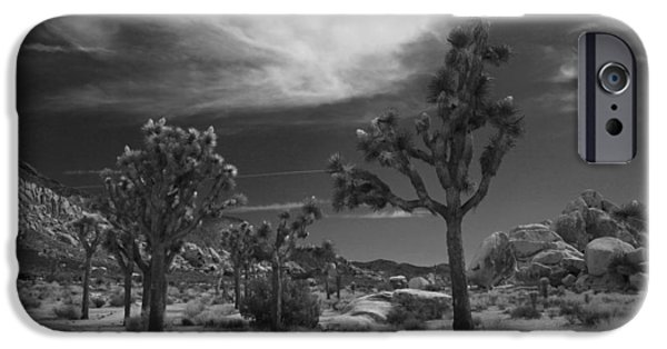 Monotone Photographs iPhone Cases - There Will Be a Way iPhone Case by Laurie Search