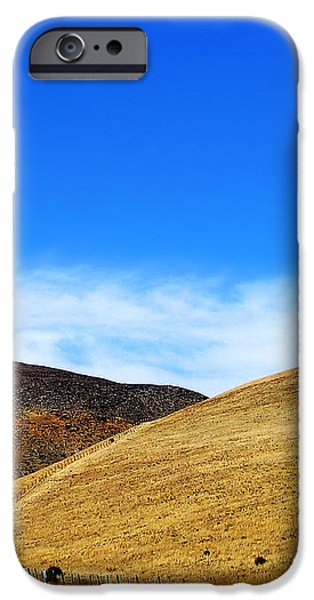 There's Gold on them thar Hills iPhone Case by Camille Lopez