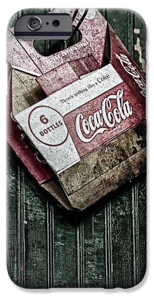 Signs iPhone Cases - Theres Nothing Like A Coke iPhone Case by Susan Candelario