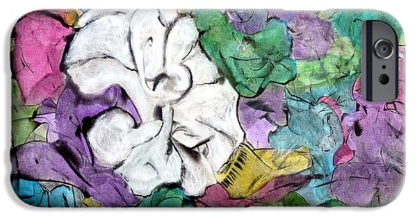 Recently Sold -  - Business Paintings iPhone Cases - Theres One In Every Crowd iPhone Case by Jim Whalen