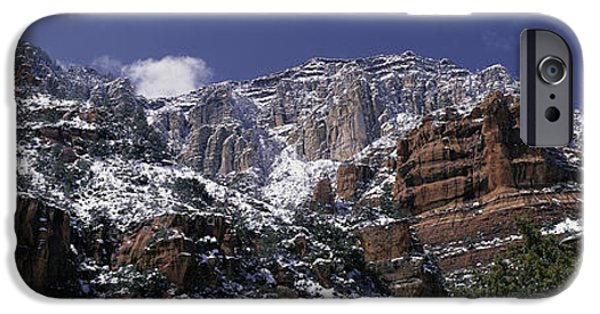 Sedona iPhone Cases - These Are The Red Rocks Of Sedona iPhone Case by Panoramic Images