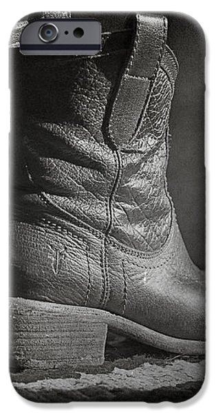 These Boots iPhone Case by Terry Rowe