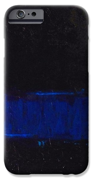 Recently Sold -  - Law Enforcement iPhone Cases - Thin Blue Line iPhone Case by Sarah Jane Thompson