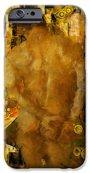 Thinking About You iPhone Case by Kurt Van Wagner