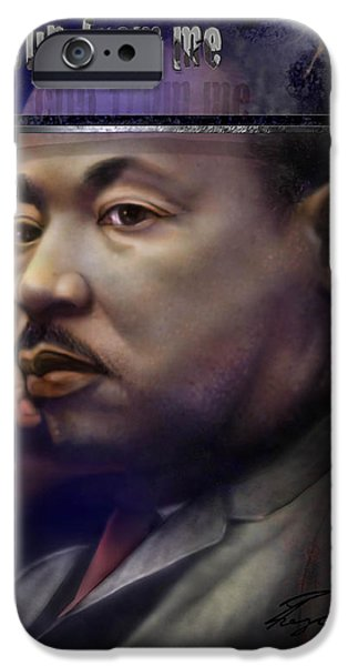 This Cup - The Reality that was King iPhone Case by Reggie Duffie