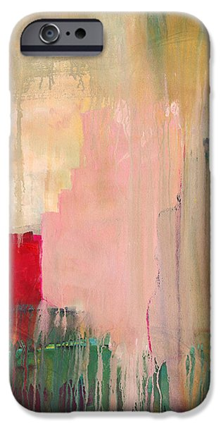 Abstract Expressionist iPhone Cases - This Cursory Life iPhone Case by Blenda Studio