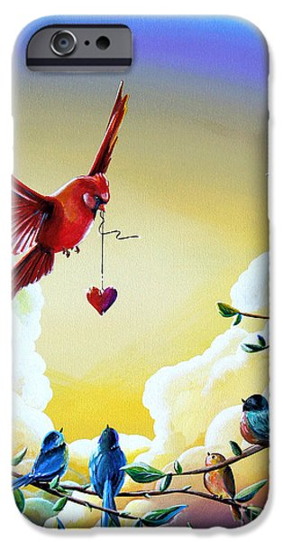 Jay iPhone Cases - This Heart Of Mine iPhone Case by Cindy Thornton