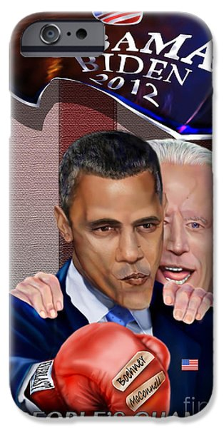 Barack Obama iPhone Cases - This Is A Big ------- Deal iPhone Case by Reggie Duffie