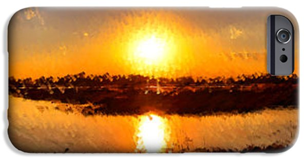 Fireball iPhone Cases - This is Planet Earth iPhone Case by Olivier Le Queinec