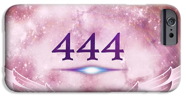 444 iPhone Cases - This Is Your Wake Up Call iPhone Case by Ashe Aria Leighland