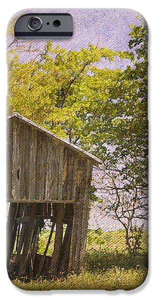 This Old Barn iPhone Case by Joan Carroll