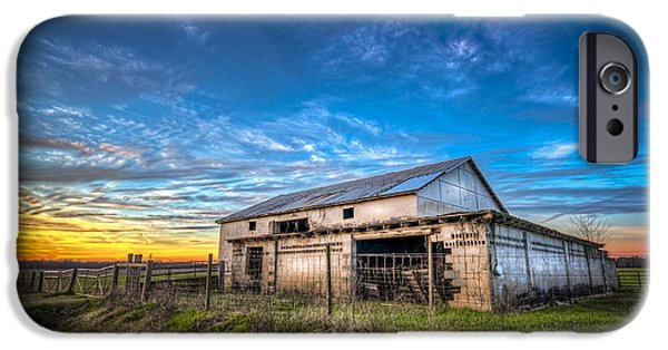 Shed iPhone Cases - This Old Barn iPhone Case by Marvin Spates