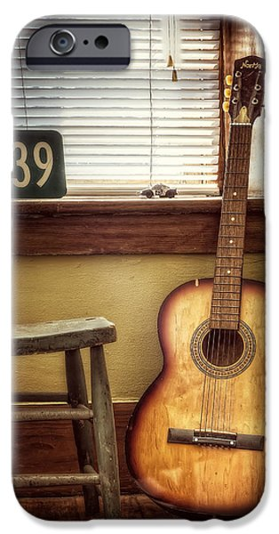 Familiar iPhone Cases - This Old Guitar iPhone Case by Scott Norris