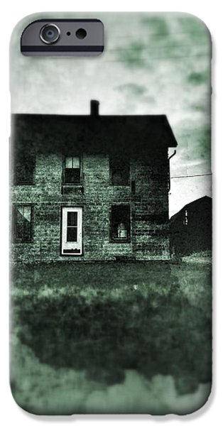Old Houses iPhone Cases - This Old House iPhone Case by Jeff Klingler