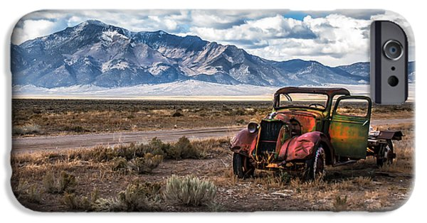 Recently Sold -  - Haybale iPhone Cases - This Old Truck iPhone Case by Robert Bales