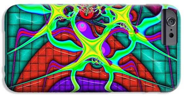 Business Digital iPhone Cases - This Rough Magic 1 iPhone Case by Wendy J St Christopher