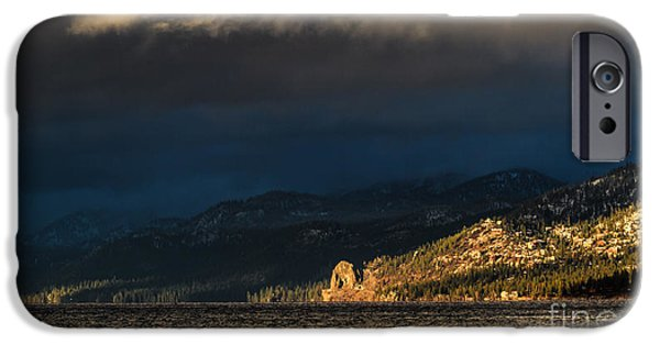 Winter Storm iPhone Cases - This To Shall Pass iPhone Case by Mitch Shindelbower