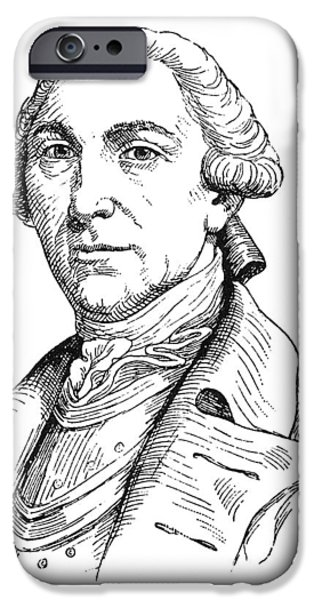 American Revolution iPhone Cases - Thomas Conway (1735-?1800) iPhone Case by Granger