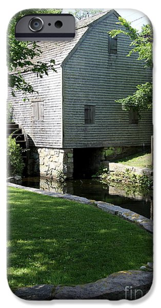 Grist Mill iPhone Cases - Thomas Dexters Grist Mill iPhone Case by Christiane Schulze Art And Photography