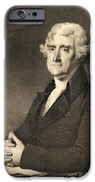 Thomas Jefferson iPhone Case by American School