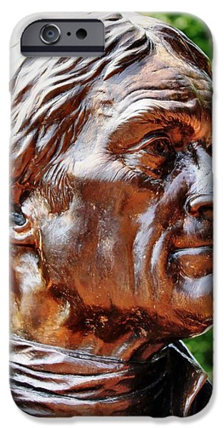 Thomas Jefferson iPhone Case by Judy Palkimas
