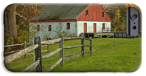 Grist Mill iPhone Cases - Thompson Neely Grist Mill iPhone Case by Adam Jewell