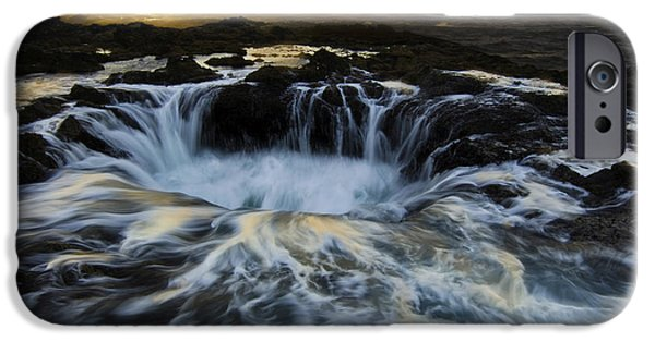 Beach iPhone Cases - Thors Well Truly A Place Of Magic 2 iPhone Case by Bob Christopher