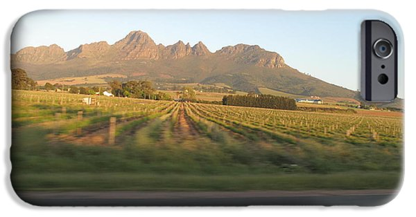Stellenbosch iPhone Cases - Those Mountains Know The Truth iPhone Case by Frank Chipasula