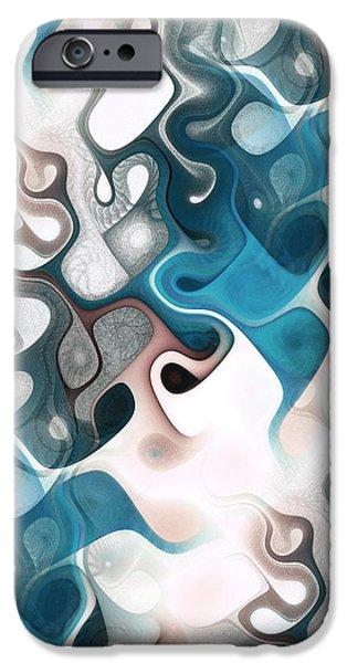 Thought Process iPhone Case by Anastasiya Malakhova