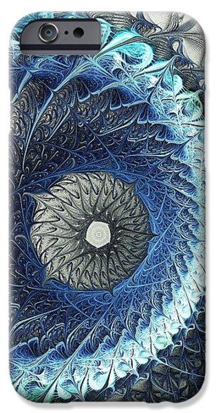 Gift iPhone Cases - Threadwork iPhone Case by Anastasiya Malakhova